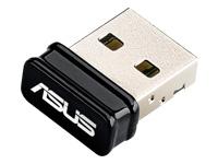 ASUS USB-N10 NANO Netværksadapter USB 2.0 802.11b, 802.11g, 802.11n