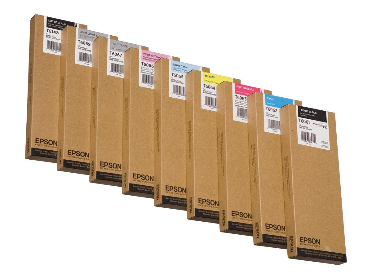 Epson T6148 - pack de 1 - 1 - noir mat - originale - cartouche d'encre