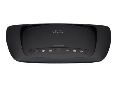 Image of Linksys X2000 - wireless router - DSL modem - 802.11b/g/n - desktop, wall-mountable
