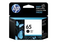 HP 65 - Black - original - blister - ink cartridge - for Deskjet 3720, 3721, 3722, 3723, 3733, 3752, 3755, 3758