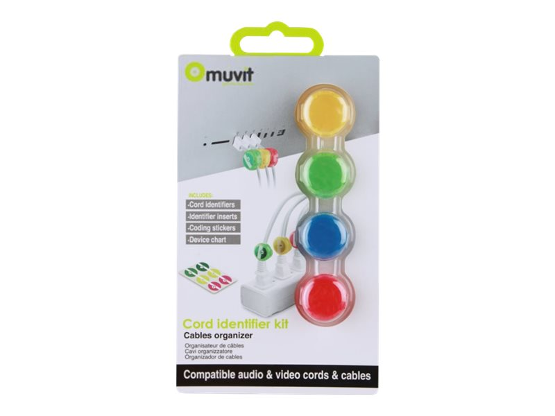 Muvit Cable Identifier - kit de guide pour câbles