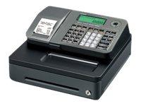 Casio SE- S100 - Caisse enregistreuse - 2000 PLU - tiroir 6 pièces - argenté