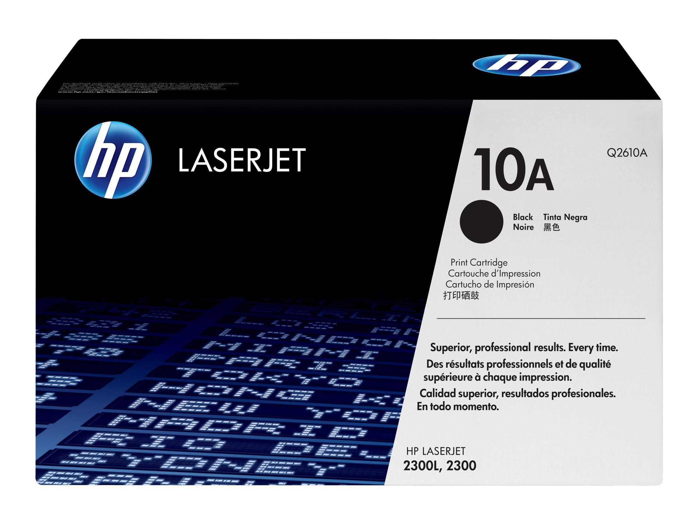 HP 10A - noir - originale - LaserJet - cartouche de toner (Q2610A)