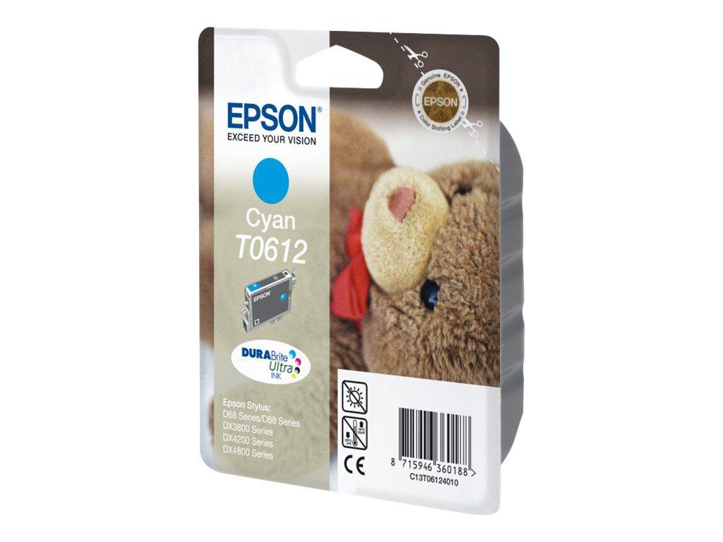 Epson T0612 - cyan - originale - cartouche d'encre