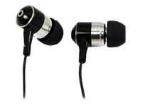 LogiLink Stereo In-Ear Earphone Øreproptelefoner i øret 3.5 mm plug