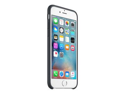 Apple - Zadní kryt pro mobilní telefon - silikon - uhlově šedá - pro iPhone 6, 6s
