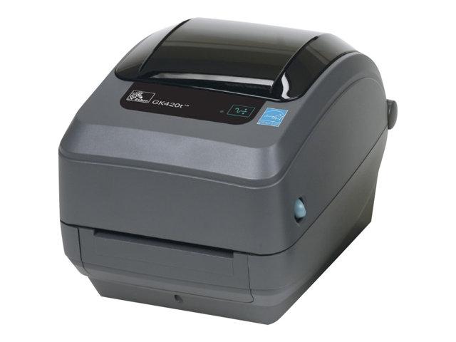 Image of Zebra G-Series GK420t - Healthcare - label printer - monochrome - thermal transfer