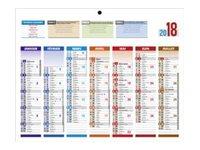 CBG 4 Saisons Mini - calendrier bancaire