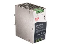 TRENDnet DIN Rail 48V 240W Power Supply for TI-PG80