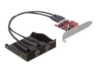 Delock Front Panel 2 x USB 3.0 incl. PCI, Delock Front Panel 2 x