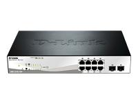 D-Link Web Smart DGS-1210-10P - commutateur - 10 ports - Géré - Ordinateur de bureau