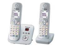 Panasonic KX-TG6822 Trådløs telefon besvarelsessystem med opkalds-ID