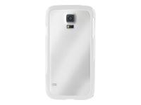 PURO Clear Bagomslag til mobiltelefon plastik, silicone hvid