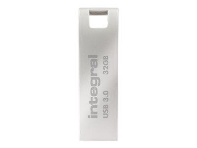 Integral Arc USB 3.0 - Jednotka USB flash - 32 GB - USB 3.0 - zinková