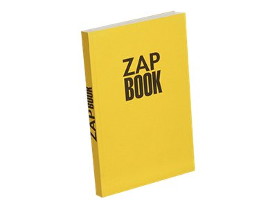 Clairefontaine ZAP BOOK - A5 - Bloc d'esquisse - 14,8 x 21 - 320 pages - Uni