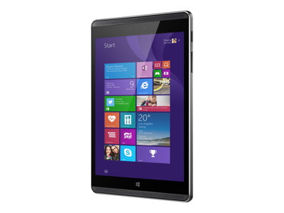 "HP Pro Tablet 608 G1 - Tablet - Atom x5 Z8550 / 1.44 GHz - Win 10 Pro 64-bit - 2 GB RAM - 32 GB eMMC - 7.86"" touchscreen 2048 x 1536 - HD Graphics 400 - Wi-Fi - gray"
