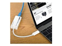TRP Adaptador  USB 3.1 Type-C a Ethernet 10/100/1000 Blanco