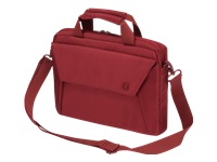 """Dicota Slim Case EDGE Bæretaske til notebook 11.6"""" rød"""