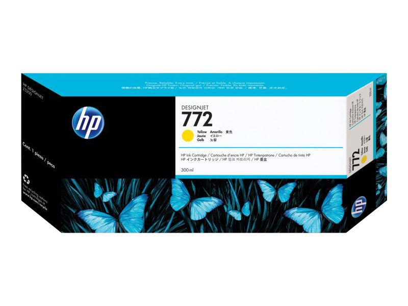 HP 772 - jaune - originale - cartouche d'encre