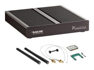 Black Box iCOMPEL V Series Digital Signage 4-Zone Subscriber WiFi - Digital signage publisher - Intel Celeron - RAM 2 GB - HDD 32 GB