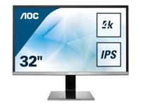 AOC U3277PWQU 32 Inch 4K Widescreen Monitor