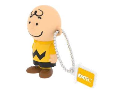 EMTEC Peanuts Charlie Brown - clé USB - 8 Go