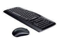 Logitech Wireless Combo MK330 Tastatur og mus-sæt trådløs 2.4 GHz
