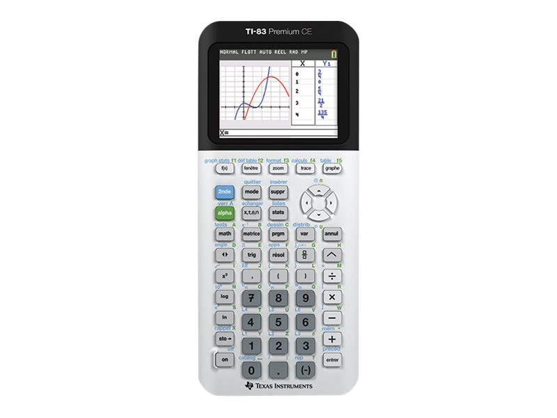 Texas Instruments TI-83 Premium CE - calculatrice graphique