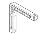 Draper Non-Adjustable Wall Bracket