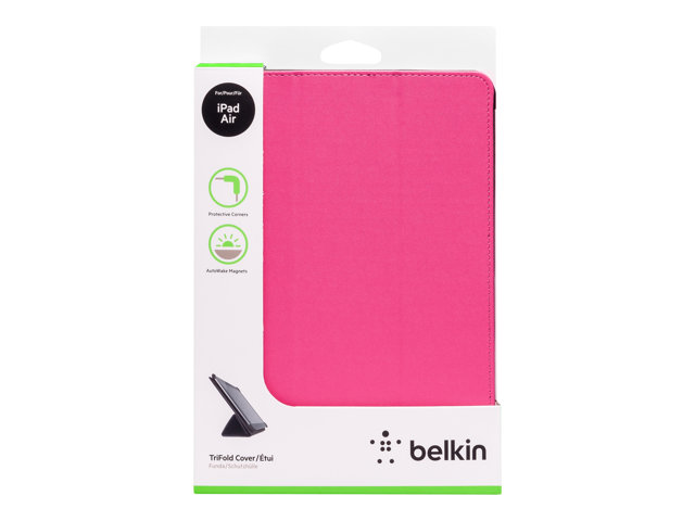 Image of Belkin Tri-Fold Folio - protective cover for tablet