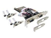 Delock PCI Express Card > 6 x Serial, Delock PCI Express Card >