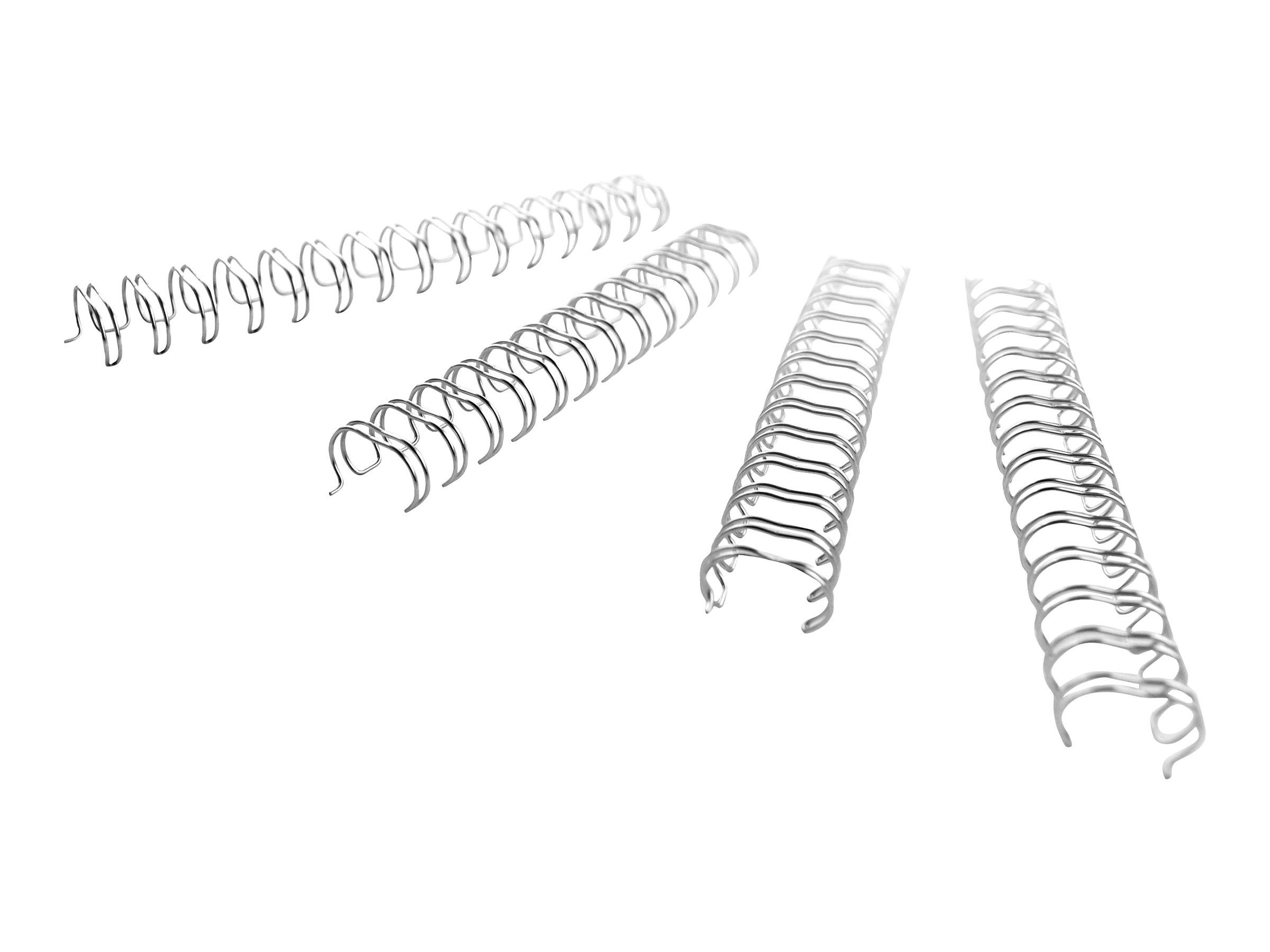 gbc wirebind 100 unit s spirale de reliure consommables de reliure. Black Bedroom Furniture Sets. Home Design Ideas