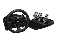 Logitech G923 Racing - Juego de volante y pedales - cableado