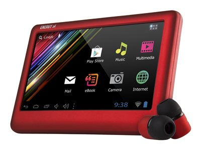 "Energy Tablet a4 8GB 4.3"" Wi-Fi - Rojo rubí"