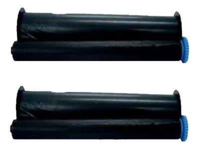 Lama France - pack de 2 - noir - recharge ruban d'encre d'imprimante (transfert thermique) (alternative for: Philips PFA 321)
