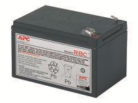 APC Replacement Battery Cartridge #4 UPS-batteri Blysyre sort