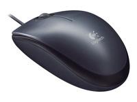 Logitech M90 Mus højre- og venstrehåndet optisk kabling USB
