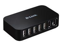 D-LINK DUB-H7/E, 7-port USB 2.0 Hub