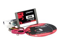 Kingston SSDNow V300 Desktop Upgrade Kit - Solid state drive - 60 GB