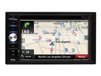 BOSS BV NV9384RC - Navigation system - display - 6.2 in - touch screen - in-dash unit - Double-DIN - 80 Watts x 4