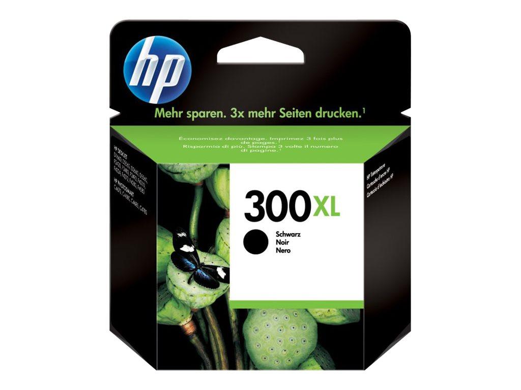 HP 300XL - à rendement élevé - noir - originale - cartouche d'encre