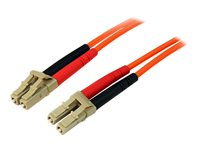 STARTECH - CABLE StarTech.com Multimode 50/125 Duplex Fiber Patch Cable LC50FIBLCLC3