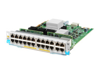 HPE - Expansion module - Gigabit Ethernet (PoE+) x 20 + 1/2.5/5/10GBase-T (PoE+) x 4 - remarketed - for HPE Aruba 5406R, 5406R 16, 5406R 44, 5406R 8-port, 5406R zl2, 5412R, 5412R 92, 5412R zl2