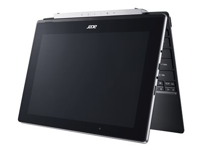 "Acer Switch V 10 SW5-017-117R - Tablet - with keyboard dock - Atom x5 Z8350 / 1.44 GHz - Win 10 Home 64-bit - 4 GB RAM - 64 GB eMMC - 10.1"" IPS touchscreen 1280 x 800 - HD Graphics 400 - Wi-Fi, Bluetooth - shale black - kbd: US International"