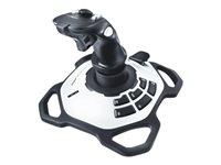 Logitech Extreme 3D Pro - Mando joystick - 12 botones