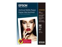 Epson Archival - papier mat - 50 feuille(s)