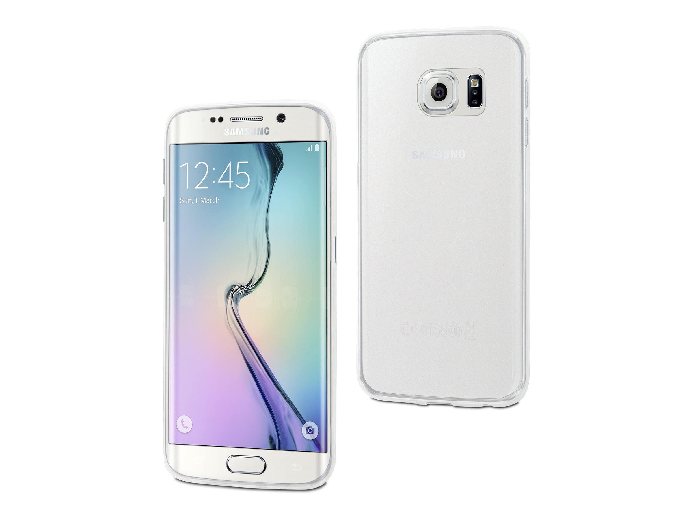 Muvit thingel - Coque de protection pour Samsung Galaxy S6 edge+ - incolore