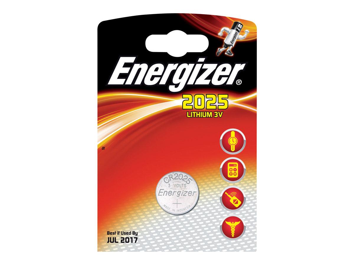 Energizer No. CR2025 - batterie - CR2025 - Li