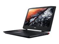 """Acer Aspire VX5-591G-76RK - Core i7 7700HQ / 2.8 GHz - Win 10 Home 64-bit - 16 GB RAM - 1 TB HDD - 15.6"""" IPS 1920 x 1080 (Full HD) - NVIDIA GeForce GTX 1050 - Wi-Fi, Bluetooth - black - kbd: US International"""