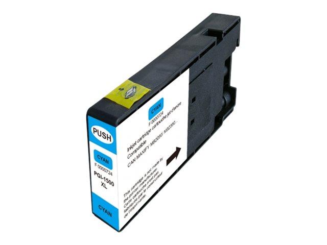 UPrint C-1500XLC - cyan - cartouche d'encre (équivalent à : Canon PGI-1500XL C)